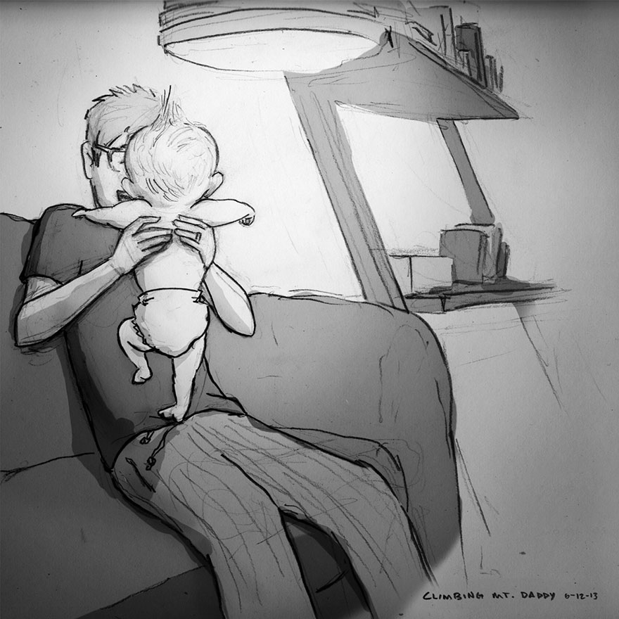 Love Is……Holding Your Baby For The First Tiime
