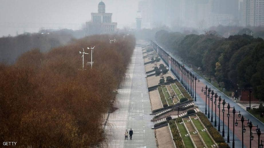 Wuhan streets are empty of its population of 11 million