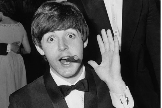 """Paul Marketney, leader of the famous rock band """"The Beatles"""""""